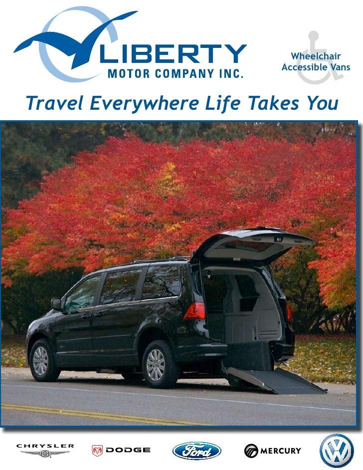 Liberty Usa Of Michigan Rear Entry Wheelchair Van