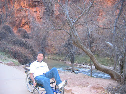 Dan biking in Zion's Park
