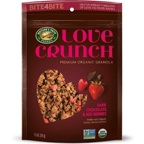 Nature's Path Organic Love Crunch Granola, Dark Chocolate & Red Berries - 11.5 oz bag