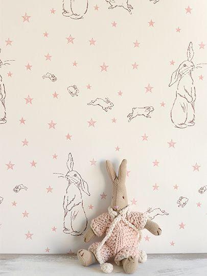Rabbit All Star wallpaper   Peony & Sage