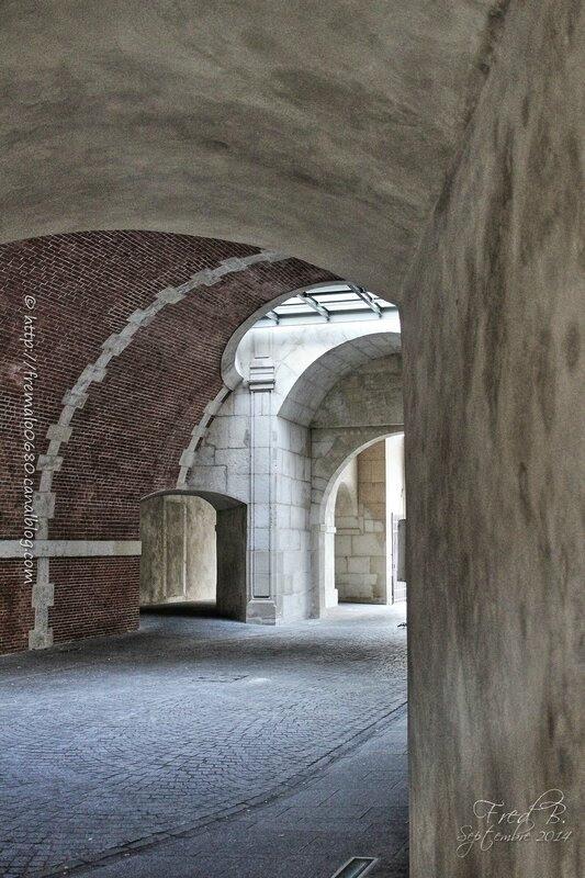 Passage vouté de la Porte de la Craffe