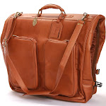 Claire Chase Classic Garment Bag Saddle