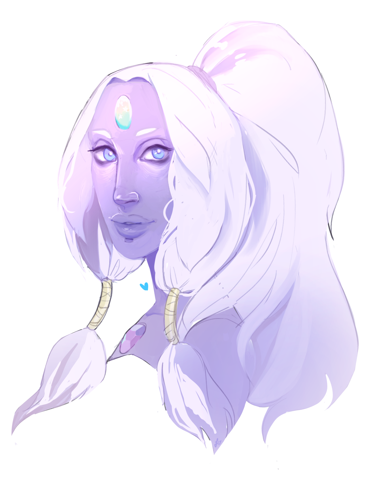 opal sketch before i leave the house ☼