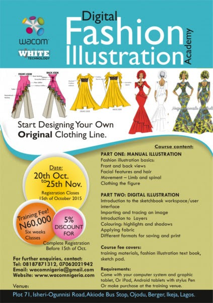Register now for the Digital Fashion Illustration Training ...