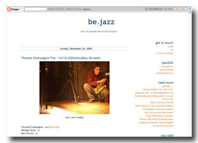 Site web be.jazz