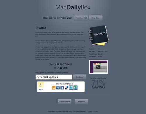 Mac Daily Box