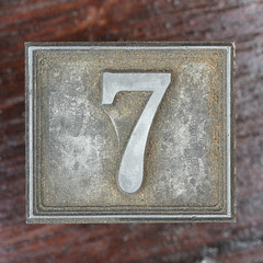 Calendar Number 7