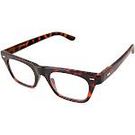 Gabriel + Simone Lyon Tortoise Unisex Reading Glasses NEW AUTHENTIC 46mm +3.50