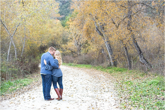 Carmel Photographer | Carmel Valley Fall Engagement Session