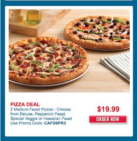 2 Domino S Pizza