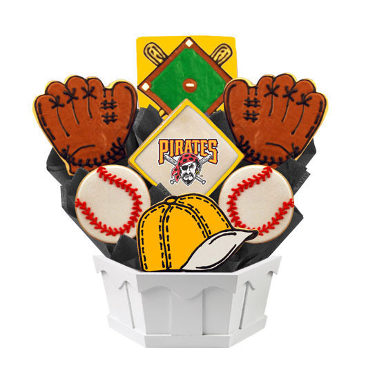MLB Pittsburgh Pirates Cookie Bouquet | Cookies by Design