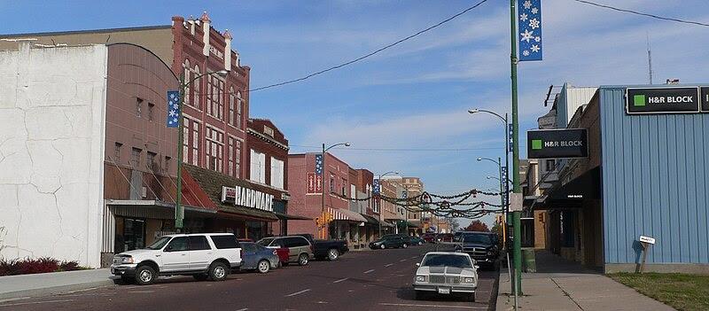 File:Falls City, Nebraska Stone from 15th.JPG