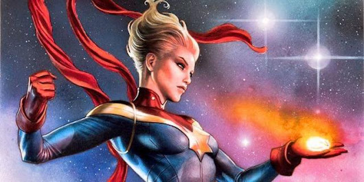 CAPTAIN MARVEL Star Brie Larson Explains How Playing Carol Danvers Has Made Her A Stronger Person