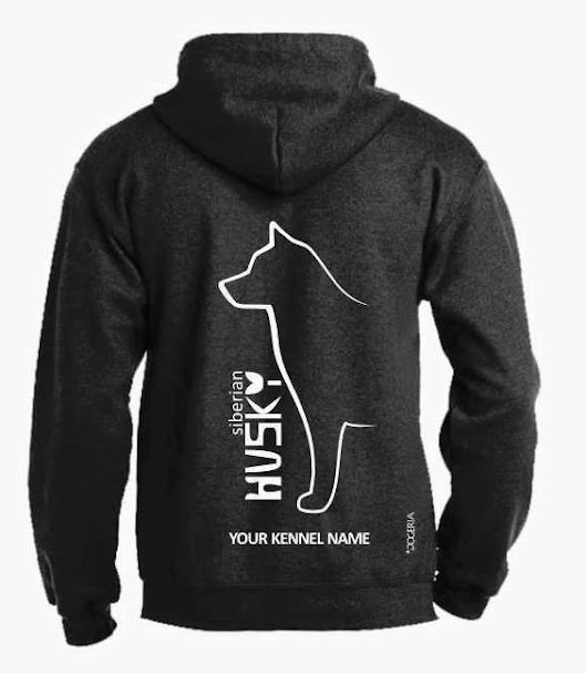 Details about Siberian Husky Dog Breed Hoodie, Pullover style, Exclusive Dogeria design
