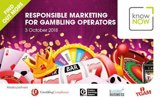 Responsible Marketing for Gambling Operators - Join us in London on October 3rd