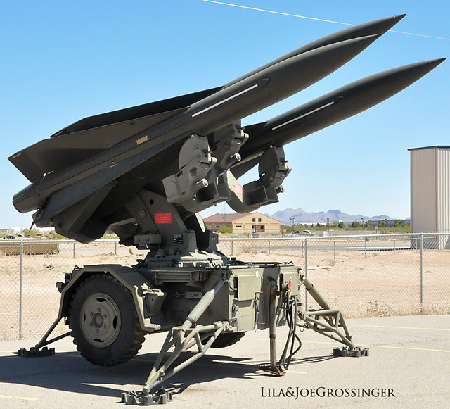 HAWK Antiaircraft Missiles