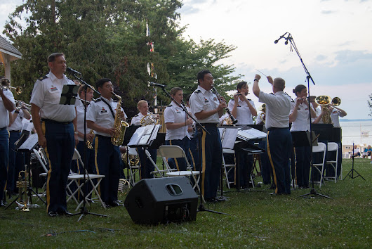 229th MDARNG Band's Havre de Grace concert