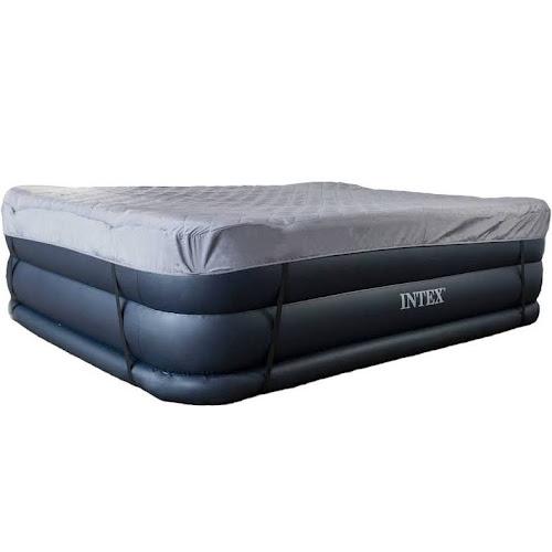 air mattress cover queen Intex Queen Raised Air Mattress with Builtin Pump + Airbed Cover  air mattress cover queen