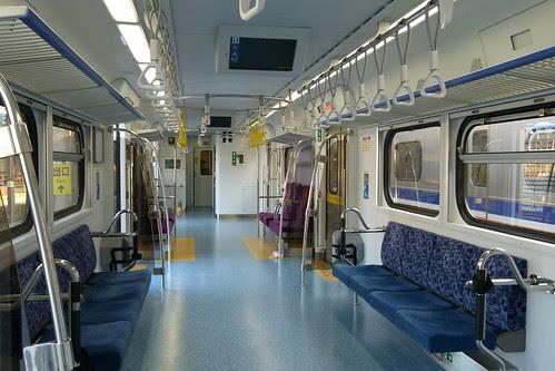EMU800內裝-無障礙車廂