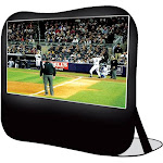 DynamicFunction Pop Up Projection Screen 120 in