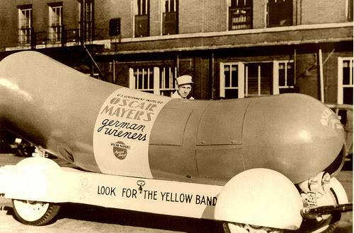 first wienermobile