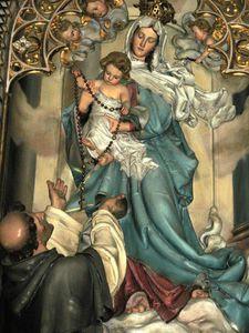 Mois d'Octobre, Mois du Très Saint Rosaire