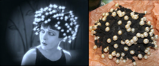 Alla Nazimova Society » Alla Nazimova's Iconic 1923 'Salome' Wig Discovered in a Trunk in Georgia