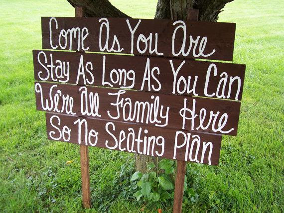 rustic   beach as signs you are farm decorations no Signs Huge come  wooden Wedding rustic