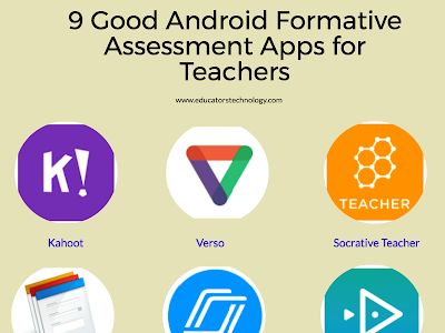 Some Good Android Formative Assessment Apps for Teachers