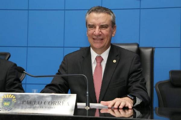 Paulo Corrêa é eleito presidente da Assembleia Legislativa e quer mais transparência e modernização da Casa