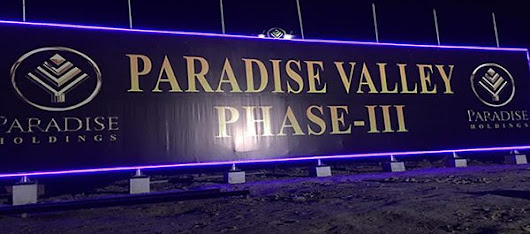 The latest update on Faisalabad's Paradise Valley Phase III