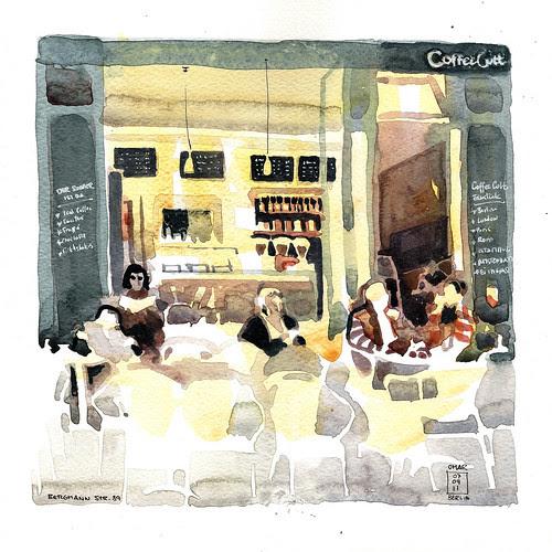 Cafe Cult ,Kreuzberg, Berlin