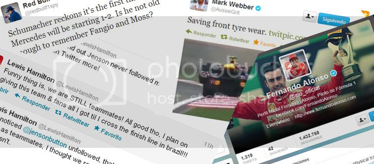 Twitter F1 2012