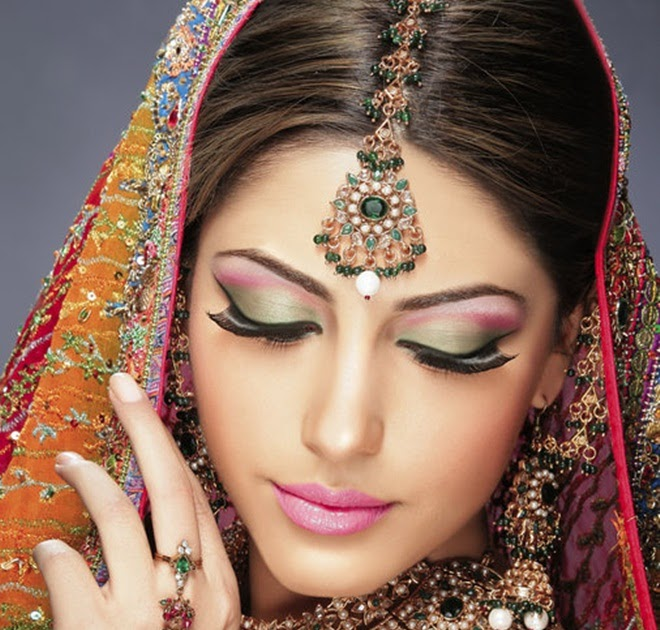 Bridal Makeup Looks Smokey Eye Pakistani 2012 Tips Pictures Natural Look Pics Bridal Makeup ...