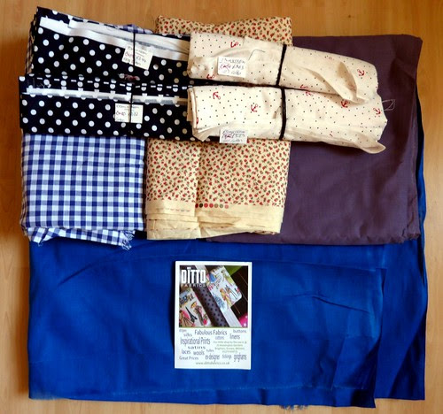 03 - Purchases, Fabric from DITTO FABRICS
