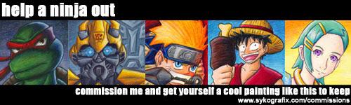 Ninjatron's Commissions