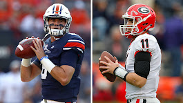 Jarrett Stidham vs. Jake Fromm: Which QB can topple Alabama's SEC dynasty? | NCAA Football | Sporting News