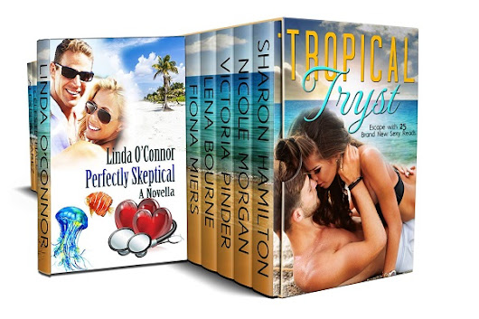 Perfectly Skeptical by @LindaOConnor98 #AuthorLove #TropicalTryst #Romance #99cents