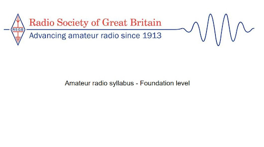 RSGB Syllabus Released - Changes to Foundation | Essex Ham