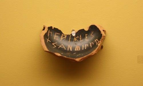 Ostraka for Pericles