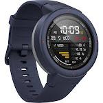 Amazfit Verge 33mm GPS Smartwatch with Built-In Alexa, Twilight Blue