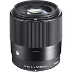 Sigma Contemporary Lens for Sony E-Mount - 30mm - F/1.4