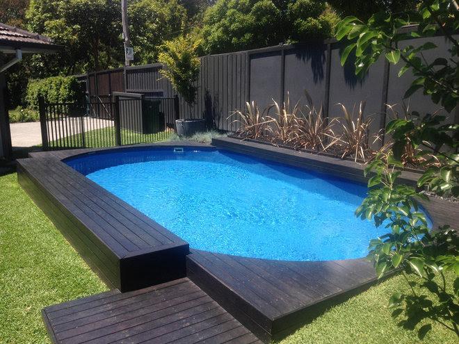 Современный Бассейн by SPASA Queensland