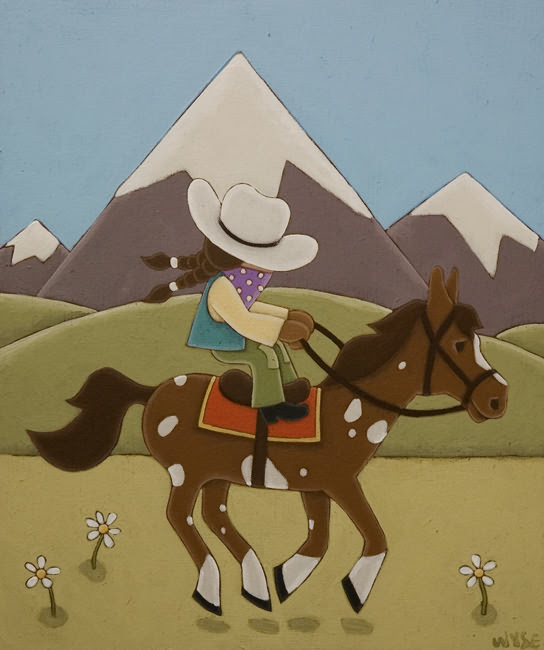 cowgirl-Peter Wyse