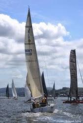 J/35 sailing Vallejo Race