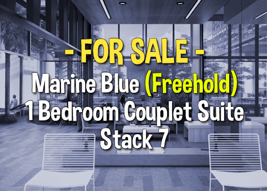 Marine Blue 1 Bedroom Couplet Suite Stack 7 For Sale | Freehold Property