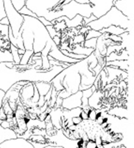 dinosaurier malvorlagen ausmalbilder