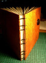 Orange cardigan (open)
