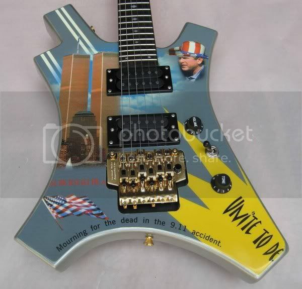 Tasteless 911 Guitar
