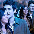 Sweet nothings: John Mayer whispers into Katy Perry's ear as the cute couple enjoy Rolling Stones concert